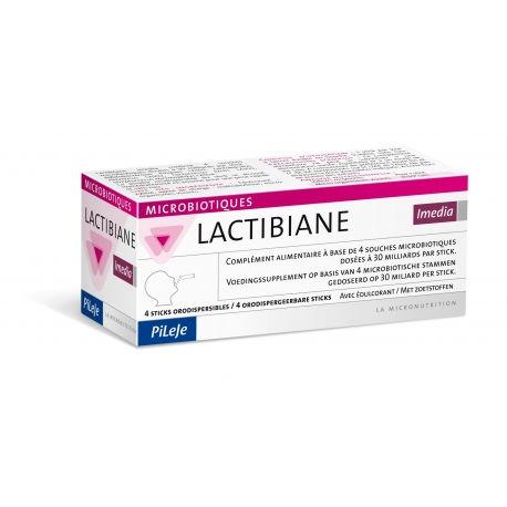 LACTIBIANE IMEDIA 4 STICKS. ENVIO GRATUITO A PARTIR DE 25€