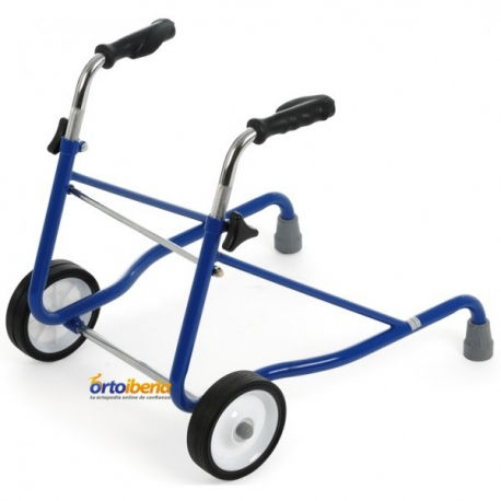 Caminador infantil regulable color azul