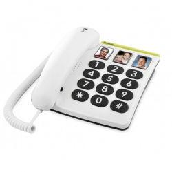 Teléfono Teclas Grandes y Botones Fotográficos