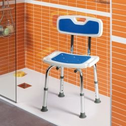 silla de ducha samba asiento blando