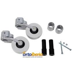 Kit de ruedas basculantes para andadores Forta