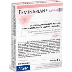FEMINABIANE C.U. FLASH 6 COMPRIMIDOS