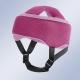 Casco de protección craneal rosa