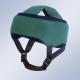 Casco de protección craneal verde