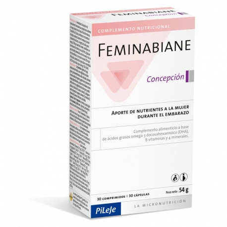 Feminabiane Concepción 30 cápsulas y 30 comprimidos