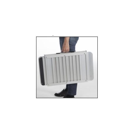 Rampa para silla de ruedas tipo maleta