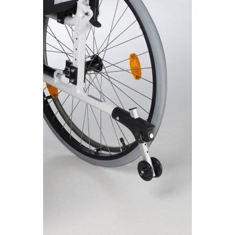 Rueda antivuelco (par) para silla de ruedas