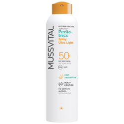 SPRAY ULTRA LIGHT MUSSVITAL PEDIATRICS SPF 50+ 150ML