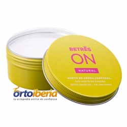 ACEITE EN CREMA CORPORAL NATURAL 230 ML BETRES ON