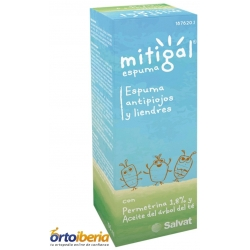 MITIGAL ESPUMA ANTIPIOJOS Y LIENDRES 100ML
