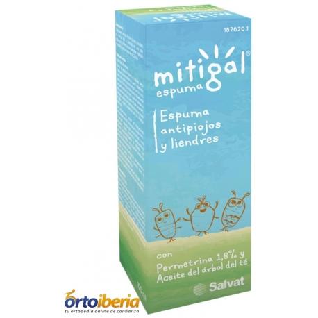 TRATAMIENTO ANTIPIOJOS MITIGAL ESPUMA