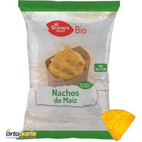 NACHOS DE MAIZ BIO EL GRANERO 125 GR