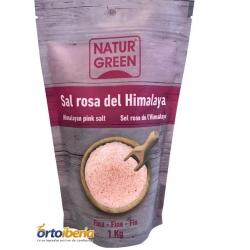 SAL ROSA DEL HIMALAYA NATUR GREEN 1KG