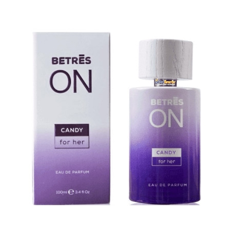 BETRES ON PERFUME DE MUJER CANDY 100 ML