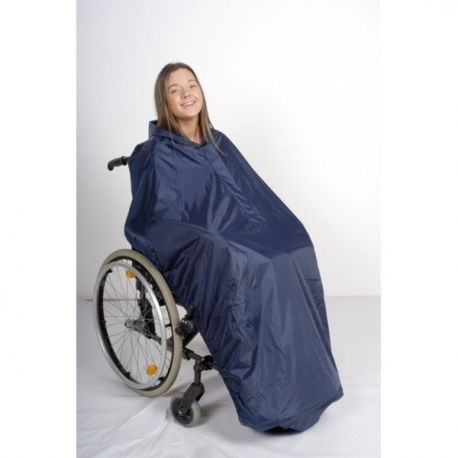 Chubasquero con capa para Silla de ruedas