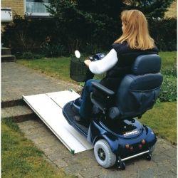 Rampa para silla de ruedas tipo maleta telescópica