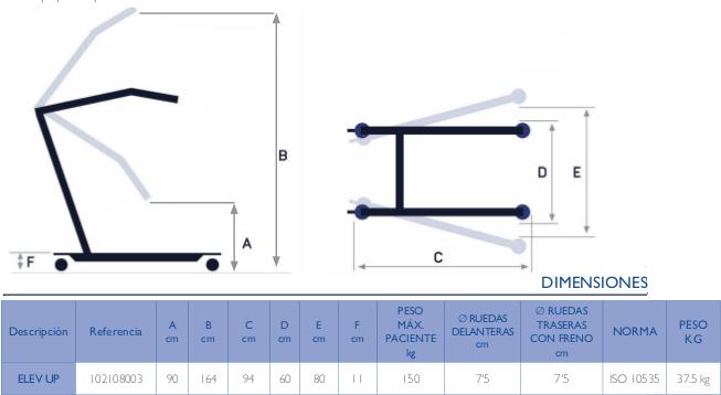 medidas-grua-bipedestacion-elev-up-150