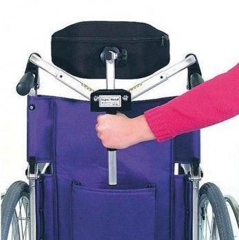 reposacabezas plegable silla de ruedas